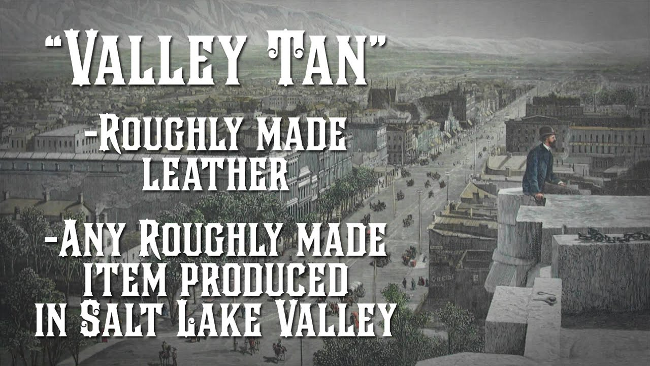 "History Minute: ""Valley Tan"""