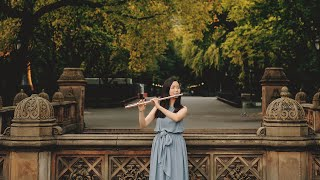 Gluck - Minuet and Dance of the Blessed Spirits in New York Central Park l Anne Kim l 뉴욕 센트럴파크 플룻연주
