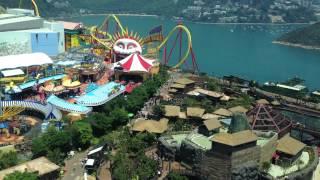 Top view of Ocean Park 2012 - Hong Kong