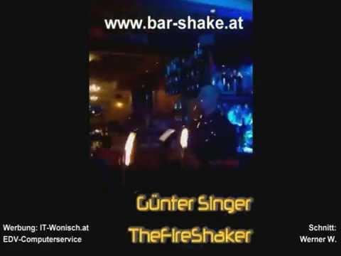 """Günter Singer """"TheFireShaker"""" live im Shake in Kirchbach 130  www.bar-shake.at"""