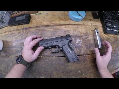 Springfield XDm Disassembly