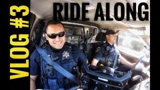 Chico PD Ride Along VLOG #3