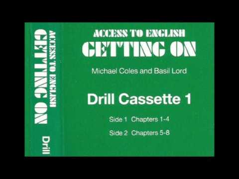 Access to English (New edition, '84) - 2 - Getting on - Drill cassette 1 for units 1- 8 - audio only