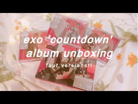 exo 'countdown' album unboxing | four...