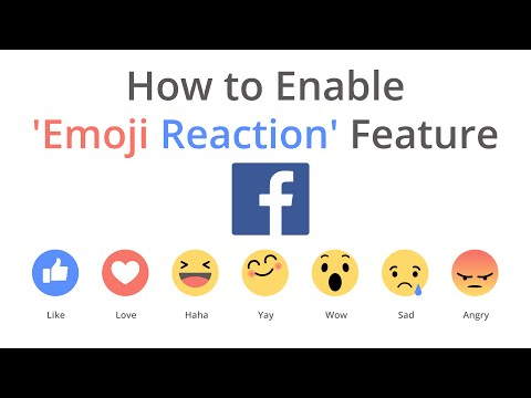 How to enable the New DisLike button 'Reaction Feature' on Facebook