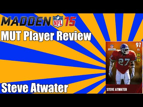 Madden NFL 15 Ultimate Team Player Review | 97 Overall Steve Atwater | Lays the Boom!