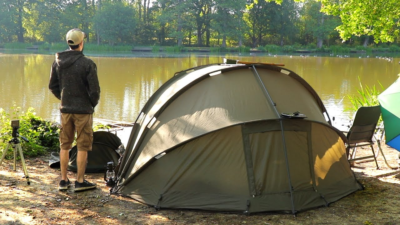 Overnight Camping & Fishing: Dome Bivvy Tent | Old Estate Lake