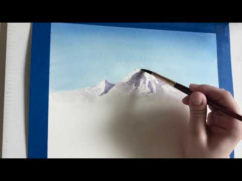 Preview image for BLMS Painting Tutorial: Paint a Landscape with Ms. Sundt!