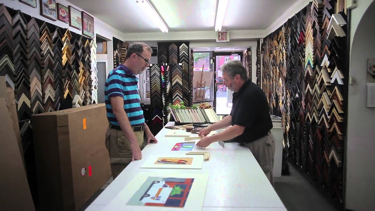 14th Street Framing Gallery Inc. Video - New York, NY United - YouTube