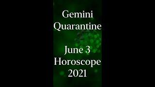 Gemini Quarantine Horoscope Daily #Shorts