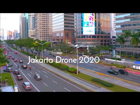 Jakarta Drone 2020, Capital City Of Indonesia