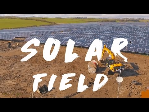 Solar Field - Stevenston