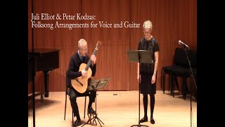 Folksong Arrangements for Voice and Guitar