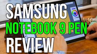 SAMSUNG NOTEBOOK 9 PEN REVIEW | Great choice 2 in 1 laptop for work!