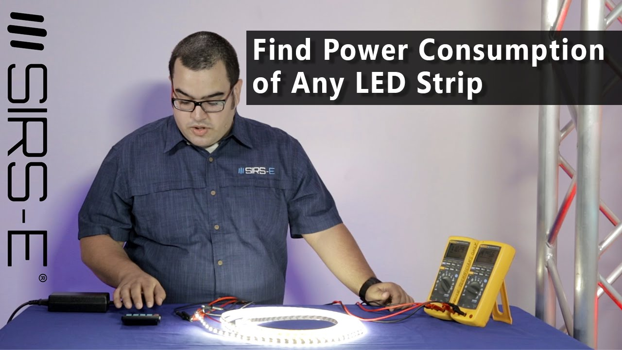 Find The Power Consumption Of Any Led Strip Youtube It Can Detect Between 0 To 500 Volts Electricity