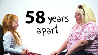 58 years apart a girl and a woman talk about life