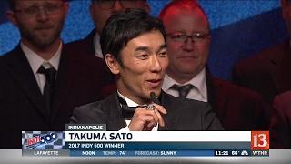Takuma Sato takes home over 2 million at Victory Banquet