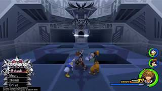 Kingdom Hearts 2 Final Mix HD - Data Xigbar No Damage (Level 1 Critical Mode w/Restrictions)
