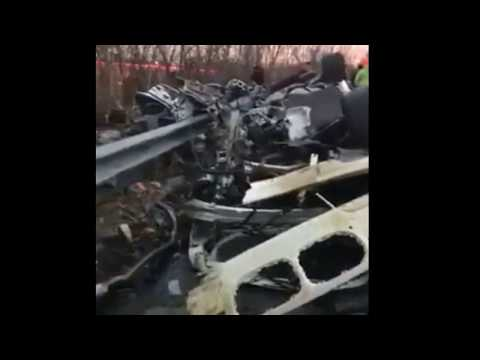 Newark, NJ Route 21 NB Fatal ROLL Over W/Ejection **GRAPHIC** w/AUDIO