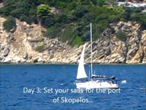 one week sailing in Sporades islands