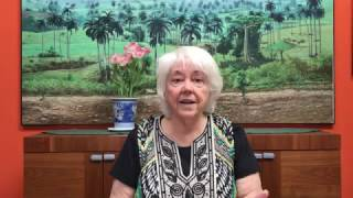 Poetry Reading: Alma Flor Ada reads poem about being bilingual -
