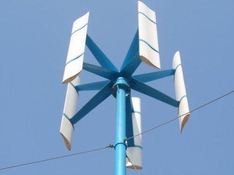 Какой ветряк лучше? Вертикальный ветряк переделка на горизонтальный 02
