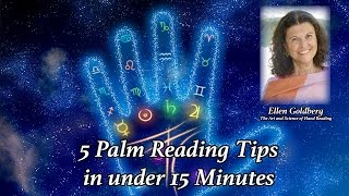 How to read palms - 5 tips in 15 minutes
