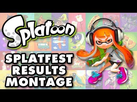 Splatoon - All Splatfest Results Montage!