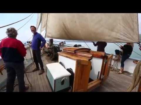 Charter History on board Bessie Ellen - Trailer