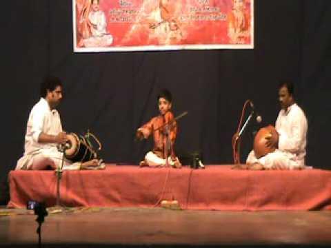Raghuvamsa Sudha on Violin