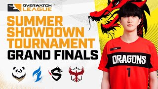 Grand Finals | Chengdu Hunters Vs Shanghai Dragons | Summer Showdown Tournament