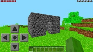 How Minecraft Pocket Edition USED to Look (Nostalgia Craft Textures)