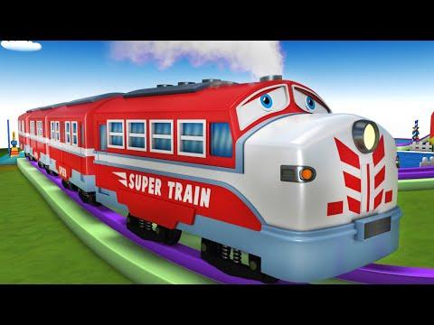 Cartoon Videos for Kids - Toy Factory Cartoon Train Videos for Kids - Chu Chu Train