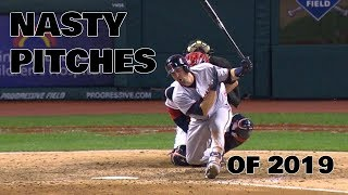 MLB   The Nastiest Pitches Of 2019