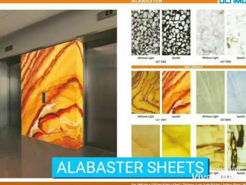 Alabaster Sheets Charcoal Sheets Acrylic Sheets Youtube