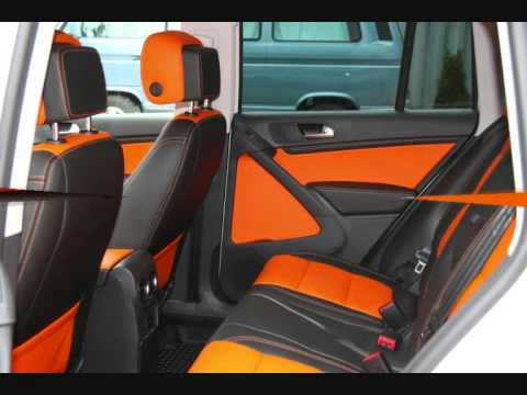 Vw tiguan leather interior 2012 orange youtube - Intiriror picture ...