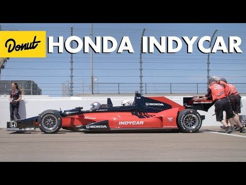 We Rode in the Honda Two Seat Indy Car | Donut Media