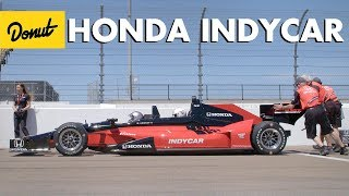 We Rode in the Honda Two Seat Indy Car | Donut Media thumbnail