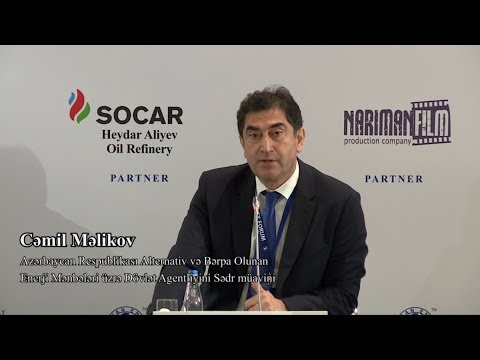 Cəmil Məlikov -  4-th Caspian Energy Forum - Baku 2017