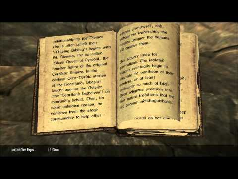 Let's Read Shezarr and the Divines (Let's Read The Books of Skyrim, Book 259)