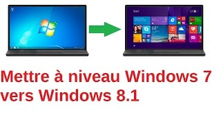 Passer de Windows 7 à Windows 8 (Sans formater)