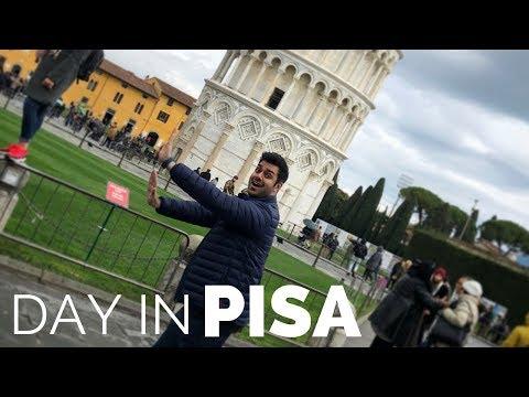 Travel Vlog: Day in Pisa, Italy