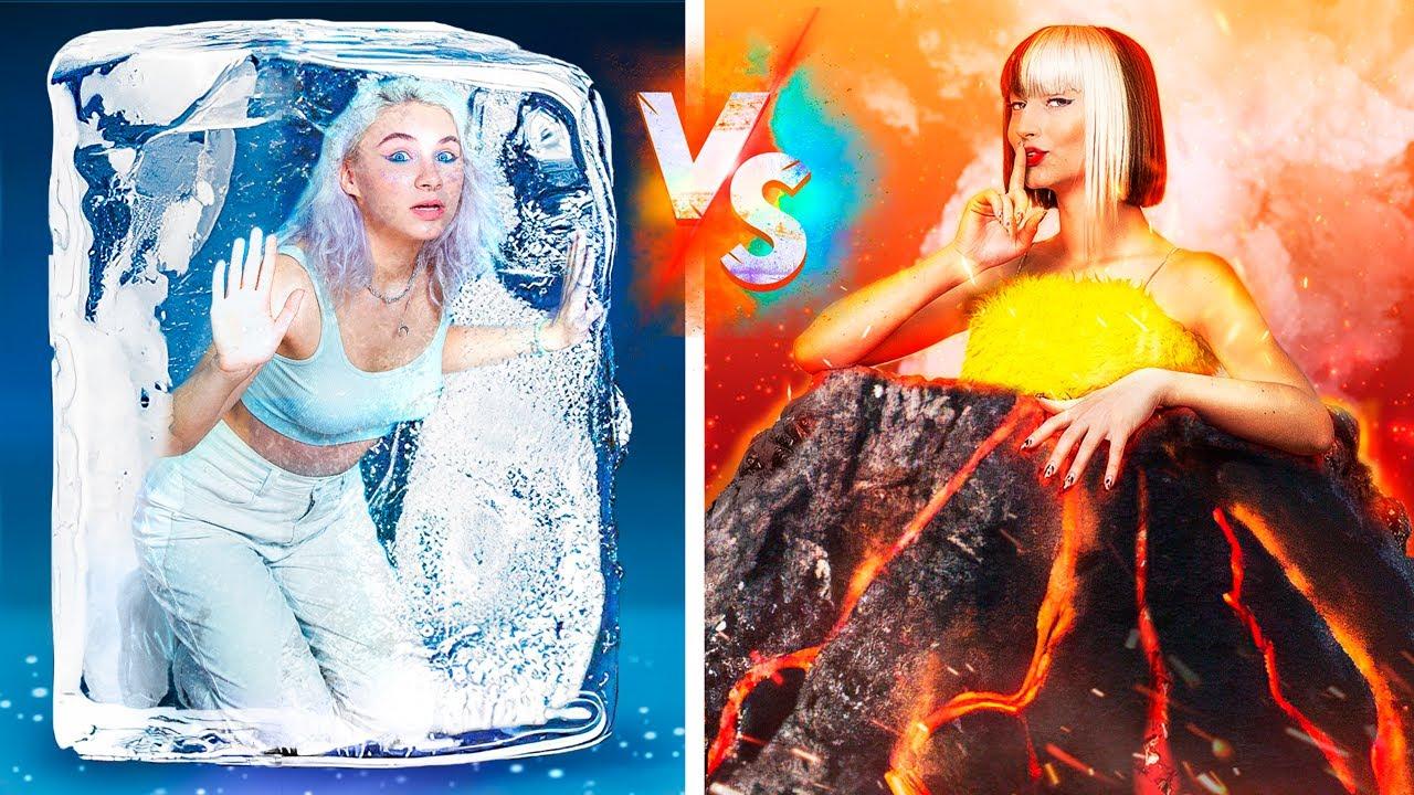 Hot vs Cold Hide and Seek Challenge