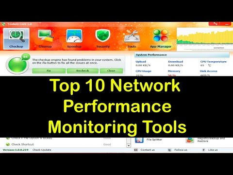 top 10 network performance monitoring tools | gfi languard | capsa free | splunk | networkminer