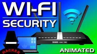 WiFi (Wireless) Password Security - WEP, WPA, WPA2, WPA3, WPS Explained