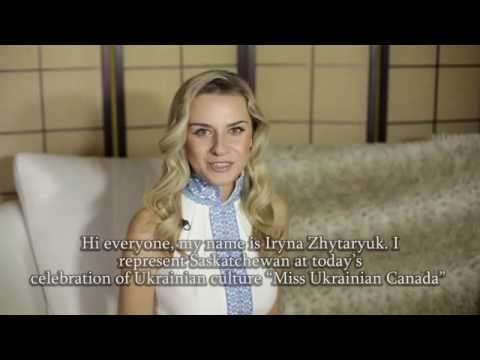 Iryna Zhytaryuk - Social Project || Miss Ukrainian Canada 2016