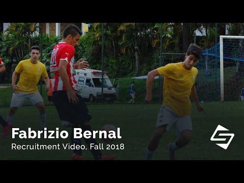 Fabrizio Bernal  - Soccer recruitment video, Fall 2018