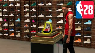 Custom Signature Shoe ? - NBA 2K20 My Player Career Part 28