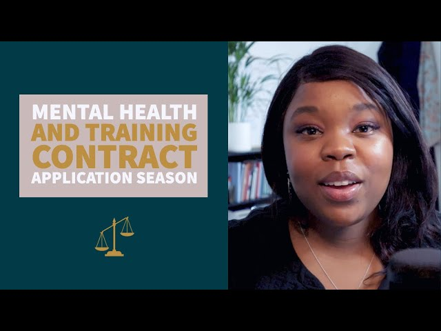 Mental Health & Training Contract Application Season