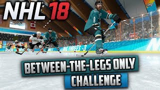 Can I Win a Game Using Only the Between-the-Legs Deke? (NHL 18 Challenge)